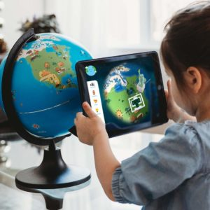 augmented reality globe toy