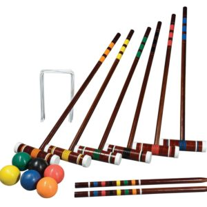 kids croquet set for 6 players