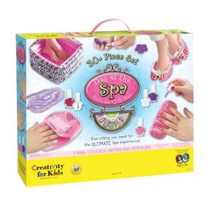 kids nail spa day set