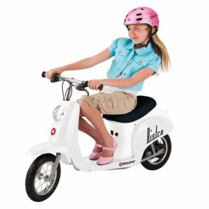 electric ride on moped for kids