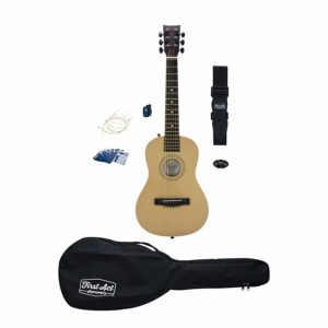 acoustic guitar and accessories for kids and beginners