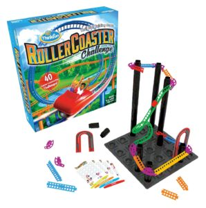 think fun roller coaster learning game