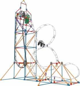 knex massive roller coaster construction set