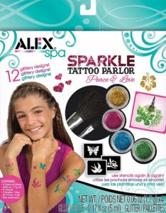 sparkle tattoo kit for kids