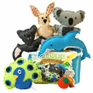 stuffed animal sewing kit