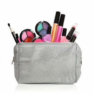 kids make up set with bag