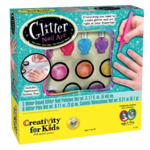 Creativity for kids Glitter Nail Art for teens