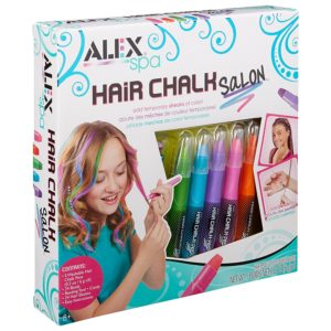 Hair chalk salon for girls
