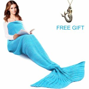 Mermaid Tail blanket for kids and teens and adult