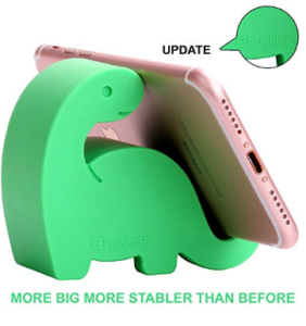 Stand Dinosaur Stripe Silicone Office Phone Holder