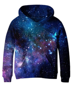SAYM Big Girls Galaxy Fleece Pockets for teens