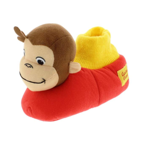 toddler slippers with curious george