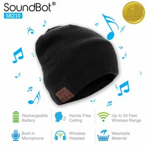 wireless smart beanie headset Headphone speaker hat for kids