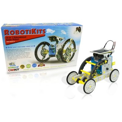 14-in-1 Educational solar Robot building kit designed for kids