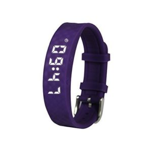 purple sports tracker watch for tweens