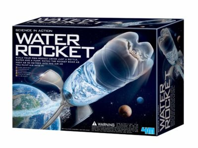 This is an image of a water rocket pack.