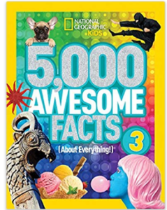 5 000 Awesome Facts About Everything for kids