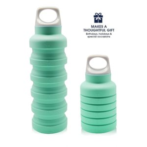 this is an image of a collapsible water bottle