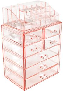 this is an image of an acrylic jewelry box