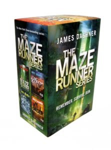 maze runner 4 book box set