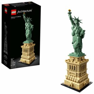 this is an image of a lego statue of liberty