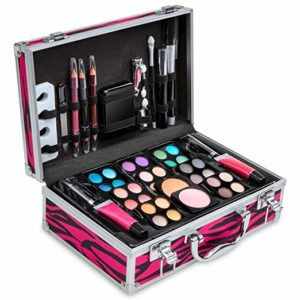 makeup case with over 50 pieces