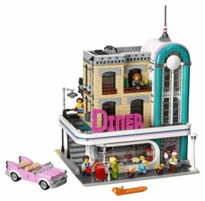 lego creator expert downtown diner set