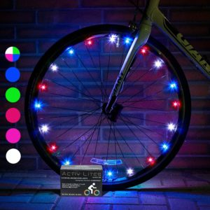 This is an image of a colorful wheel light.