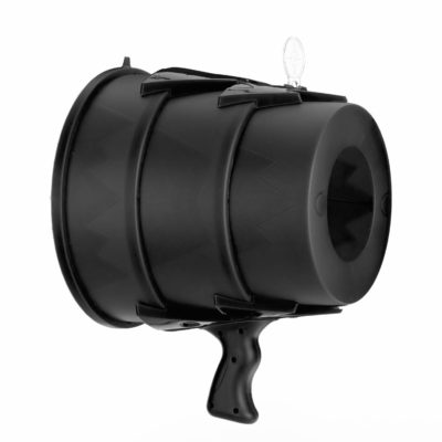 This is an image of a black air blaster.