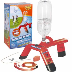 Red Aquapod Bottle Launcher Launch 2 Liter Bottles Up to 100 ft in the Air