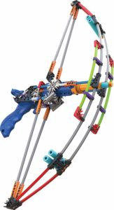 Bow build and blast set engineering toy for kids