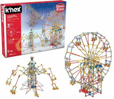 Classic Amusement Park Building Set for kids