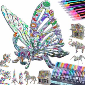 Coloring puzzles Set for kids