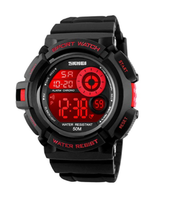 Digital Boys Watch black and red