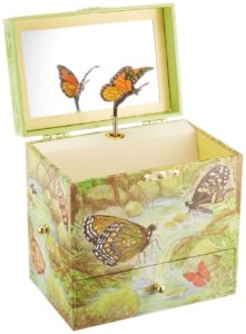 Enchantmints Monarchs butterfly music jewelry box for girls