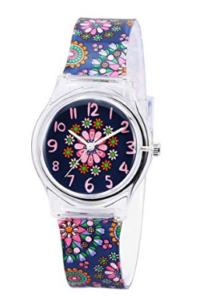 Girly watch with multi stylish and colorful designs for girls