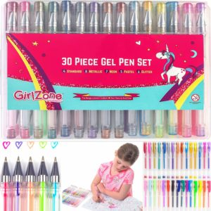 Gel pens kit for girls