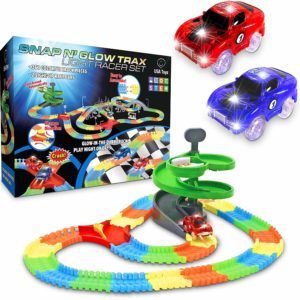 Glow race Tracks for kids