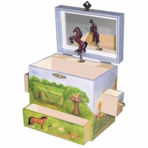 Ransh music jewelry box designed for girls