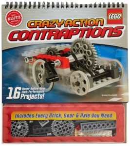 Klutz LEGO Crazy Action Contraptions Craft Kit for kids