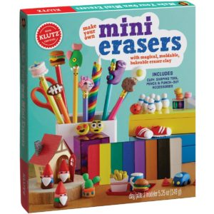 Klutz Make your own mini erasers toy for kids