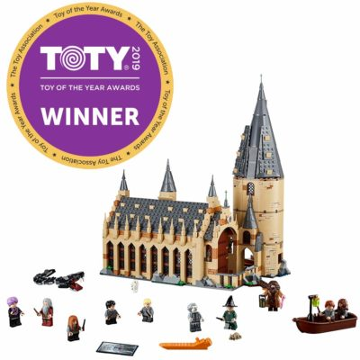 This is an image of a Hogwarts Great Hall building set.