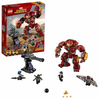 LEGO Marvel Super Heroes Avengers Infinity War building Set