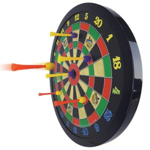Mafnetic Dart Board designed for kids