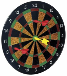 Magnetic dart board for kids