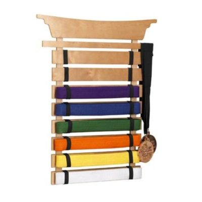 Martial Arts Belt Holder for kids
