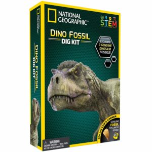 National Geographic Jurassic Science gift for Paleontology and Archeology enthusiasts of any age