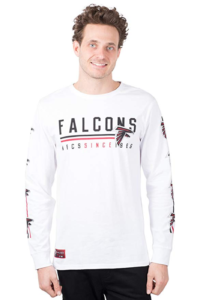 this is an image of an nfl long sleeve top