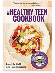 The healthy Teen cookbook had arround 80 recipes