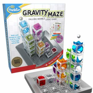 This is an image of a Gravity Maze logic game.
